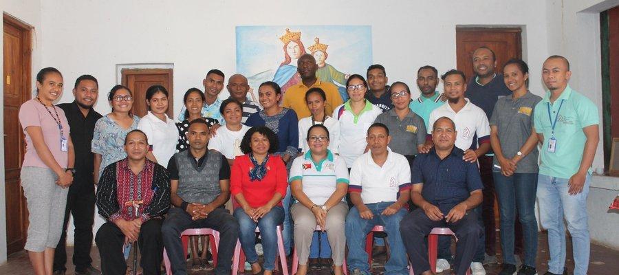 Our team in Timor Leste