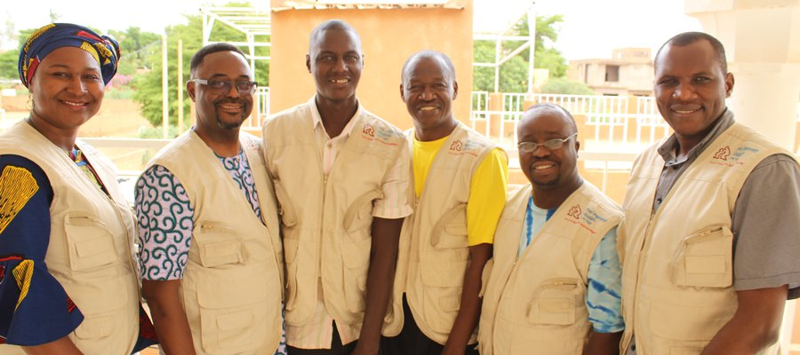The team at TLM Niger