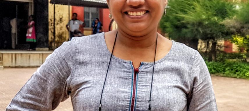 Joydeepa Darlong, Head of Knowledge Management at TLMTI at Purulia Hospital