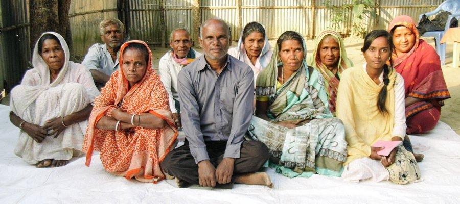 Patrokhola Tea Garden self help group members
