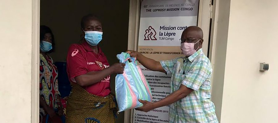 Food distribution in DR Congo during the Covid-19 pandemic