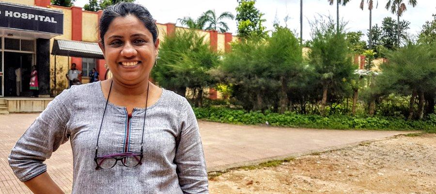 Joydeepa Darlong, our research lead in India